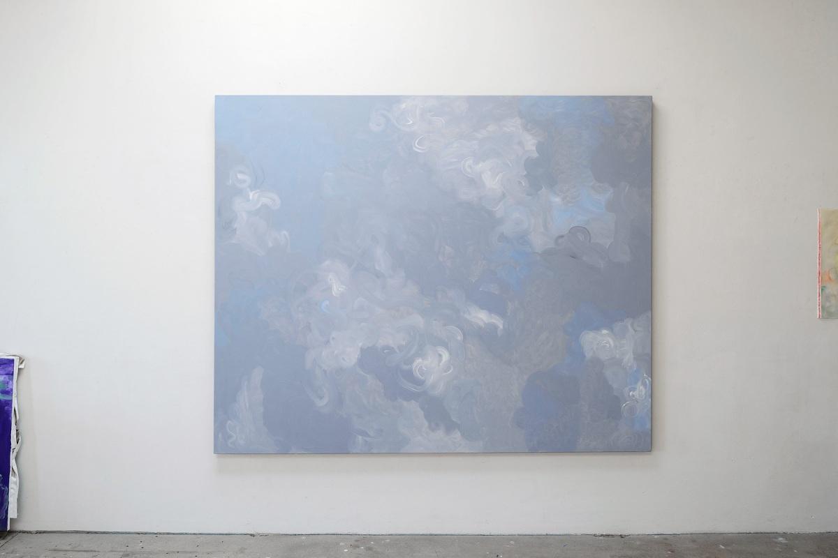 Ulrich Wellmann, 2012, Ölfarbe auf Leinwand, 180 x 220 cm
