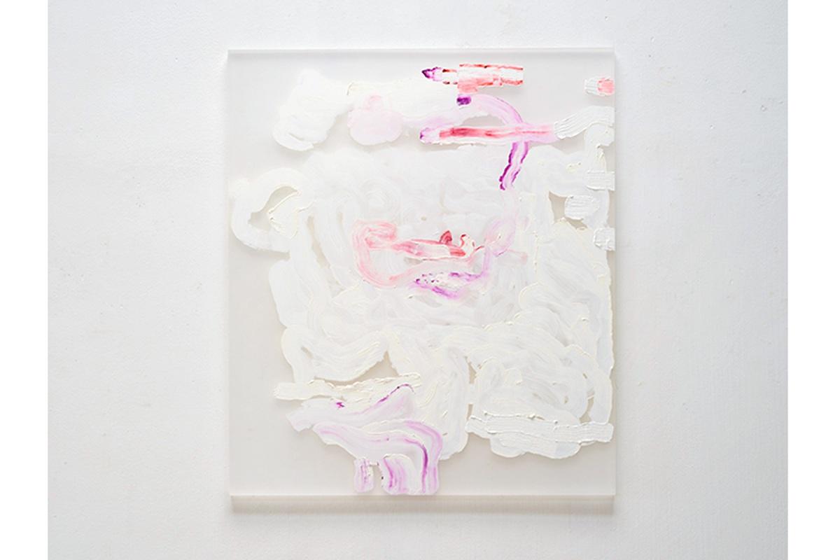 Ulrich Wellmann, 2012, Ölfarbe auf Plexiglas, 86 x 76 cm