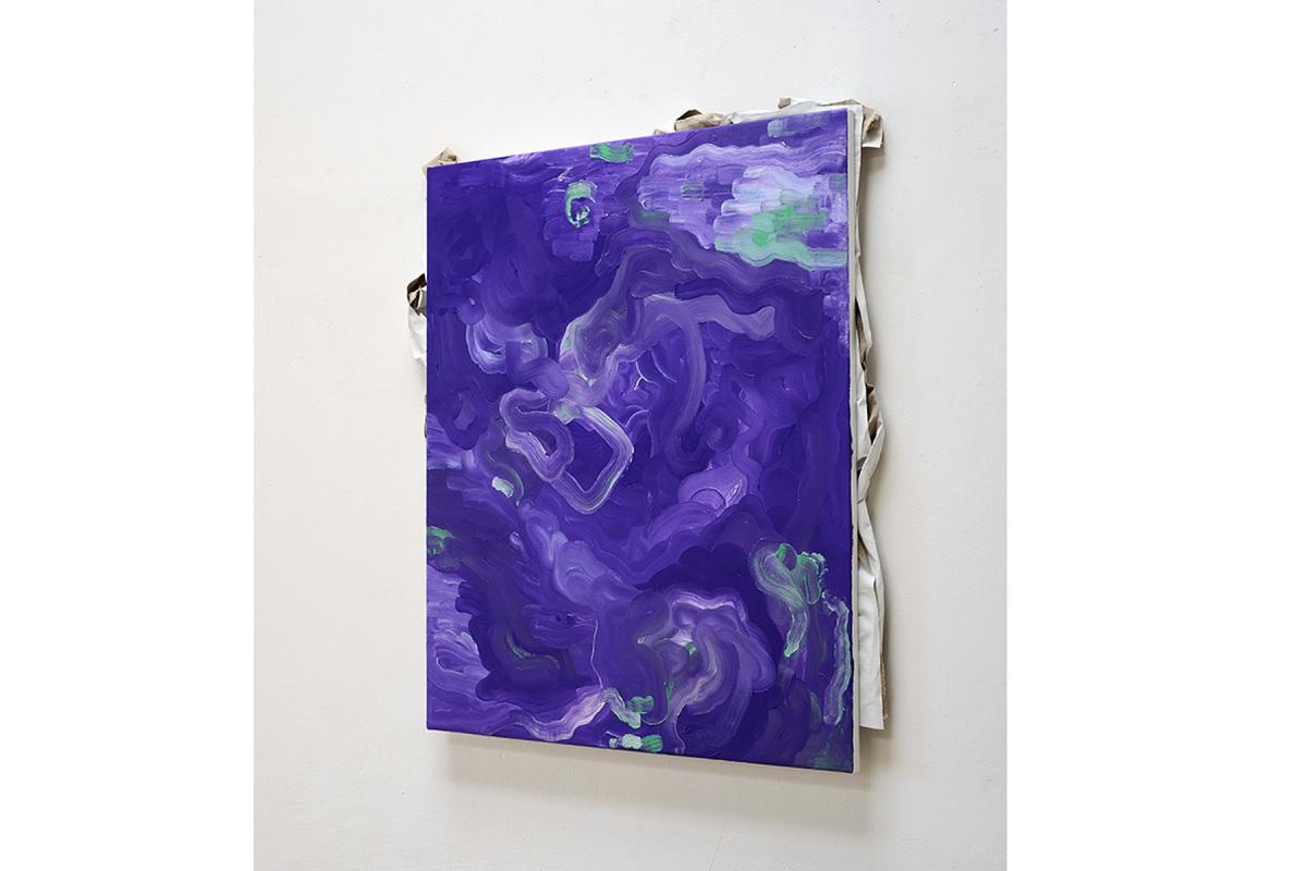 Ulrich Wellmann, 2013, Leinwand und Ölfarbe, 88,7 x 80,3 cm