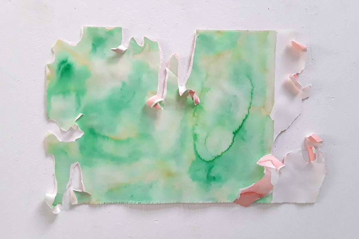 Ulrich Wellmann, 2012, Wasserfarbe, Papier, 33,1 x 50,5 cm