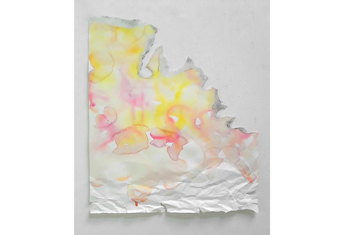 Ulrich Wellmann, 2012, Wasserfarbe, Papier, 60,5 x 52 cm